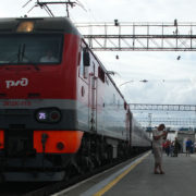 Lokomotywa Kolej Transsyberyjska