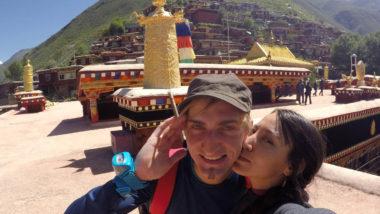 Dege na granicy Syczuanu i Tybetu